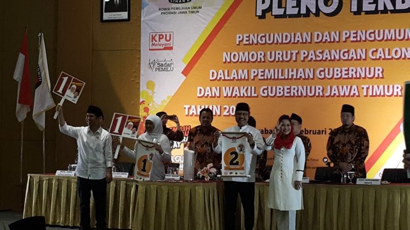 Debat Terakhir Pilgub Jatim Bakal Gunakan Bahasa Jawa