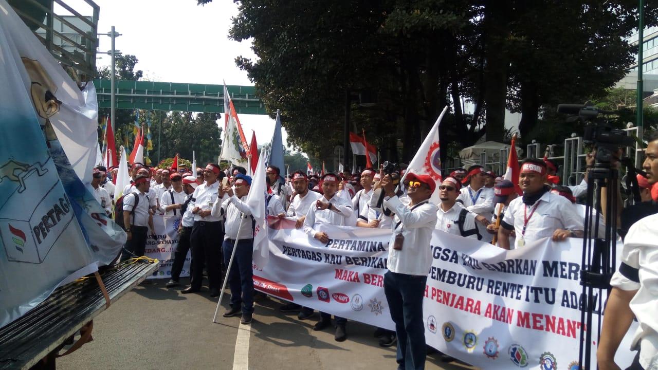 Serikat Pekerja Demo Pertamina, Apa Saja Tuntutannya? : Okezone ...
