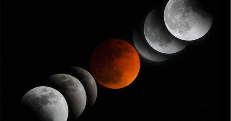 Penampakan Terlama Ini Proses Gerhana Bulan Pada 28 Juli 2018