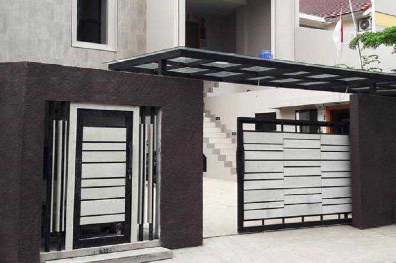 10 Inspirasi Desain Pagar Rumah Minimalis Ini Eye-Catching Banget! :  Okezone Lifestyle