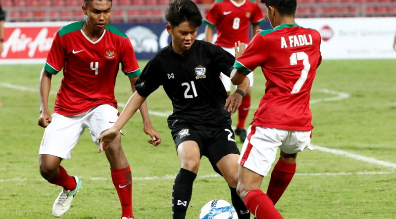 Timnas Indonesia U  Vs Thailand Di Final Piala Aff U