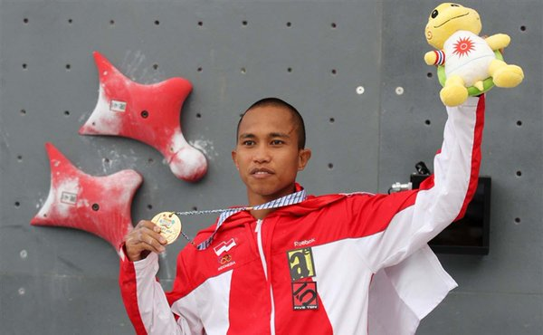 Atlet Panjat Tebing Indonesia Aspar Jaelolo Ingin Ukir Sejarah Di Asian Games 2018 Okezone Sports