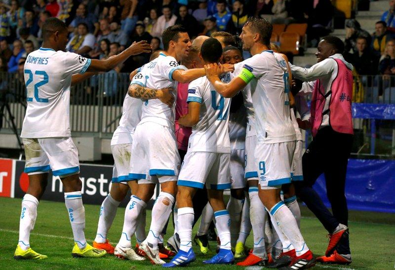 Hasil Leg I Playoff Liga Champions 2018-2019 Semalam ...