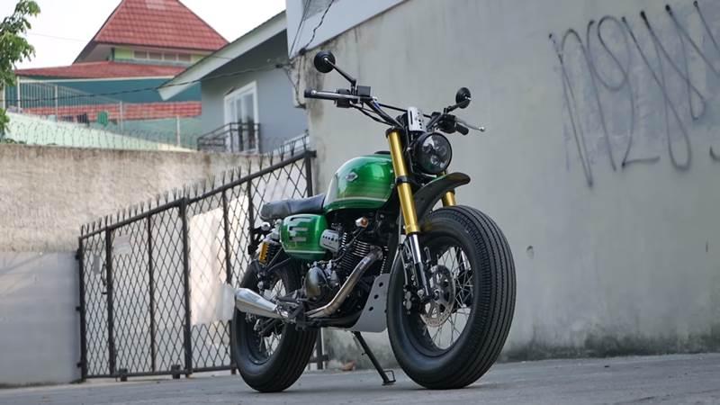 Proses Detail Ubahan Motor Custom Jokowi Kawasaki W175 Okezone News