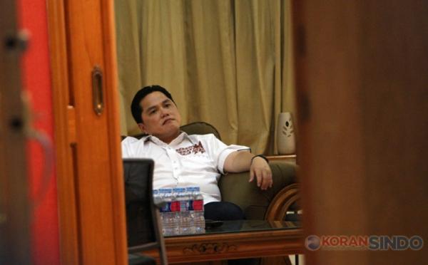 Terpilihnya Erick Thohir Jadi Ketua Timses Jokowi-Ma'ruf ...