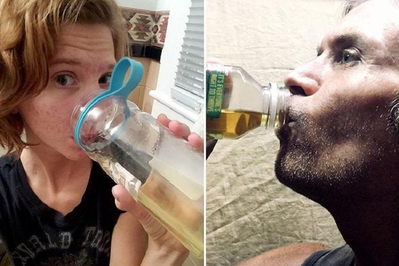 2 Orang Ini Minum Air Kencing Sendiri Untuk Turunkan Berat Badan Dan Obati Jerawat Kebenaran Atau Kebodohan Okezone Lifestyle