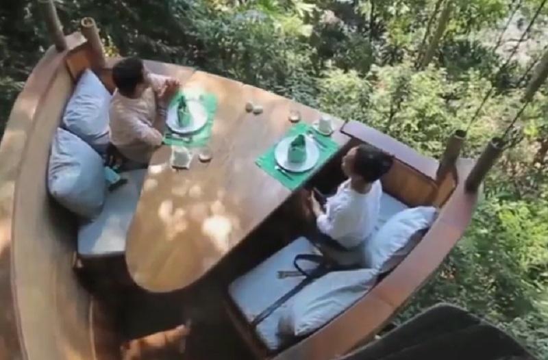 Rumah Makan Unik Di Dunia Dari Yang Di Atas Pohon Hingga Bawah Laut Okezone Lifestyle