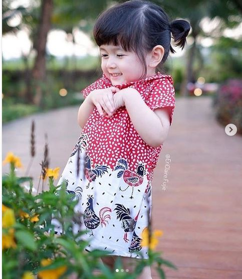 Menggemaskan Ini Aneka Pakaian Batik Untuk Anak Okezone Lifestyle