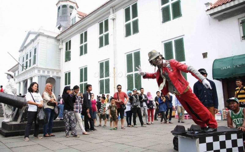 Demi Menghipnotis Pengunjung, Street Gallery di Kota Tua Diluncurkan :  Okezone Travel
