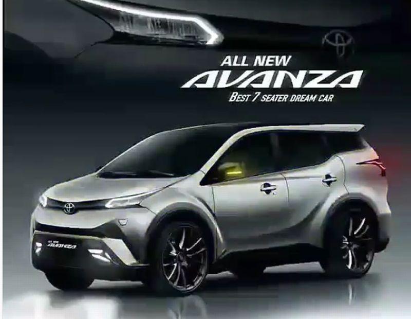 Toyota Angkat Bicara Soal Gambar All New Avanza Beredar Luas   Okezone News