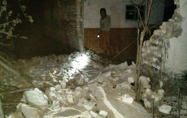 Gempa Situbondo 64 SR Sejumlah Rumah Di Kepulauan Sapudi