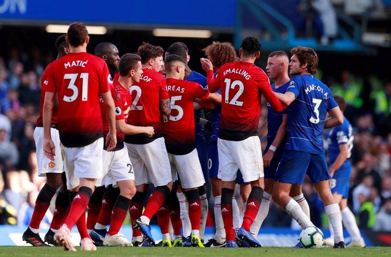 លទ្ធផលរូបភាពសម្រាប់ Hasil pertandingan Chelsea vs Manchester United