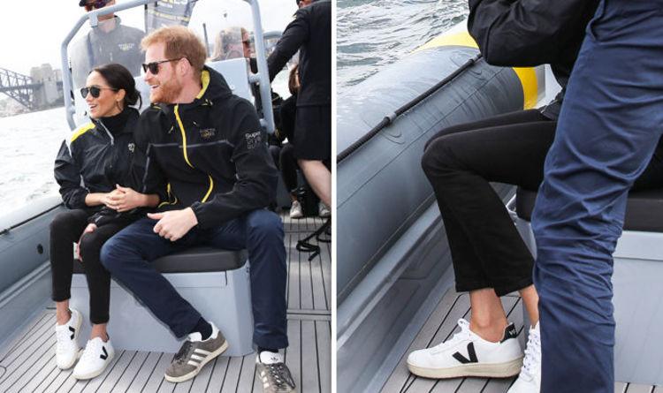 https: img.okezone.com content 2018 10 22 194 1967315 pertama-kali-meghan-markle-kenakan-sneakers-saat-royal-tour-HpJr95hA4t.jpeg