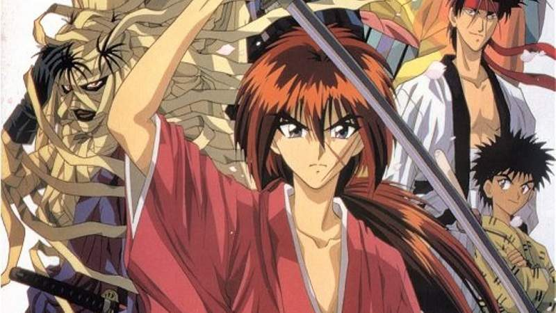 55 Gambar Kartun Samurai X Romantis HD
