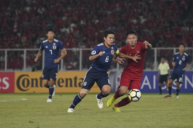 Image result for indonesia u 19 vs jepang