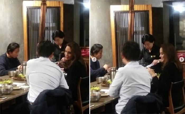 https: img.okezone.com content 2018 11 05 298 1973536 tiba-di-korea-selatan-angelina-jolie-sempatkan-santap-samgyeopsal-oqkOPhkFXs.jpg