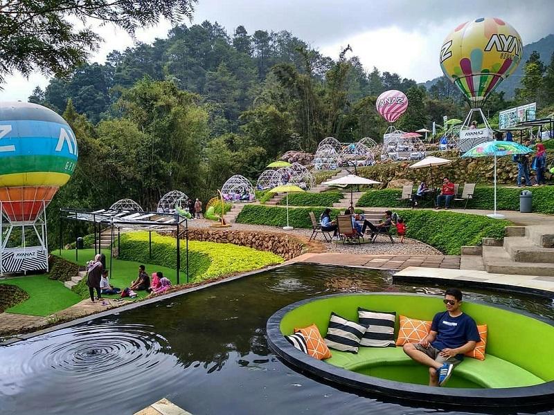 Ayana Gedong Songo Wisata Baru Semarang Yang Instagramable Banget