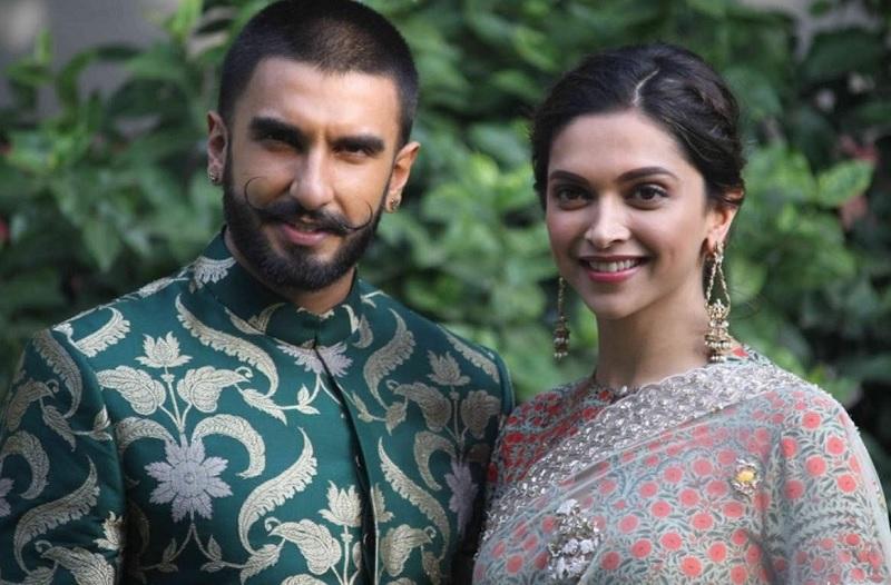Bergaya Tradisional, Deepika Padukone dan Ranveer Singh ...