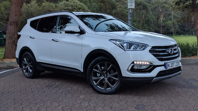 Santa Fe Suv >> Mirip Smartphone Hyundai Santa Fe Pamer Punya Akses Sidik