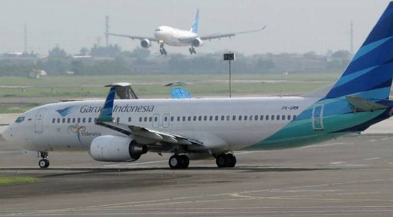 Tergelincir di Bandara Adisutjipto, Pesawat Garuda Dalam ...