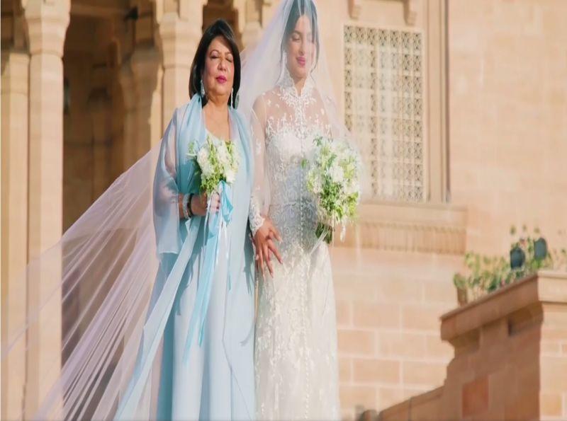 Fantastis Panjang Veil Gaun Pengantin Priyanka Chopra Lebih Dari 22