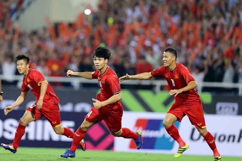 Vietnam Ke Final Piala Aff 2018 Usai Tumbangkan Filipina 2 1 Okezone Bola