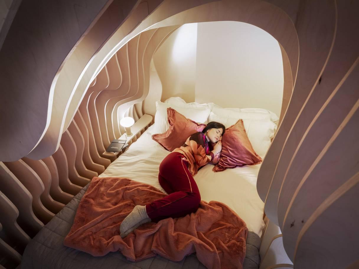 Di Inggris Ada Kamar Tidur Seperti Rahim Wanita Bikin Tamu Betah Berlama Lama Menginap Okezone Travel