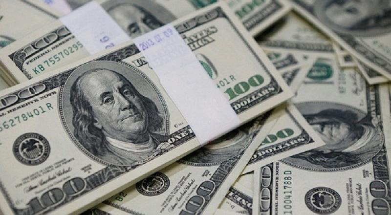 dolar as jatuh di tengah kenaikan sterling
