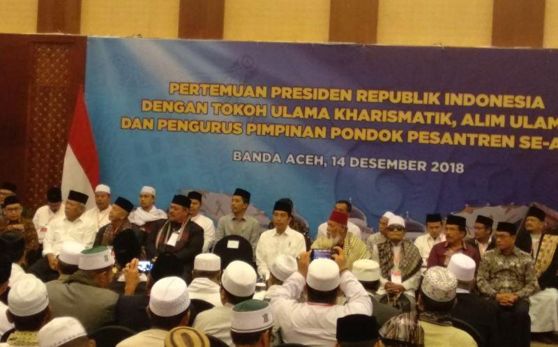 Jokowi Dorong DPR Rampungkan RUU Pondok Pesantren dan Pendidikan Agama