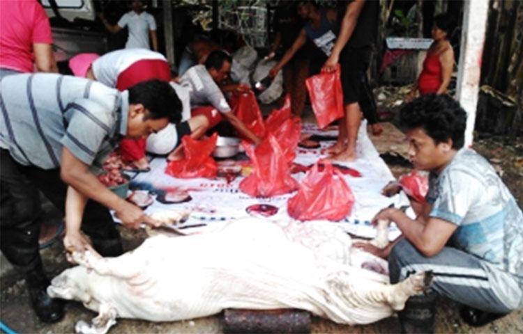 Foto Babi Di Potong Makna Potong Babi Bagi Umat Hindu Saat Rayakan Galungan Okezone Travel