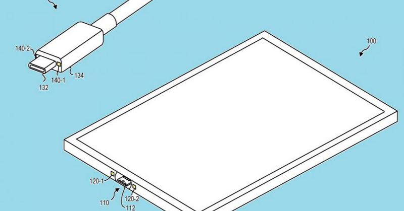 https: img.okezone.com content 2018 12 31 207 1998269 microsoft-patenkan-usb-c-magnetik-untuk-tablet-WpVd7aEgnQ.jpg