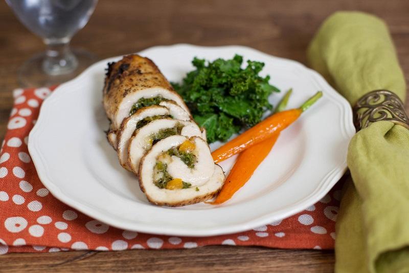 Rolade Ayam Dan Sup Makaroni Bakso Untuk Sarapan Bikin