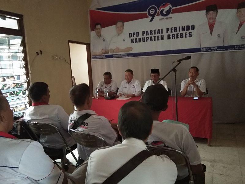 Partai Perindo Siapkan 6180 Saksi Di Brebes Okezone News