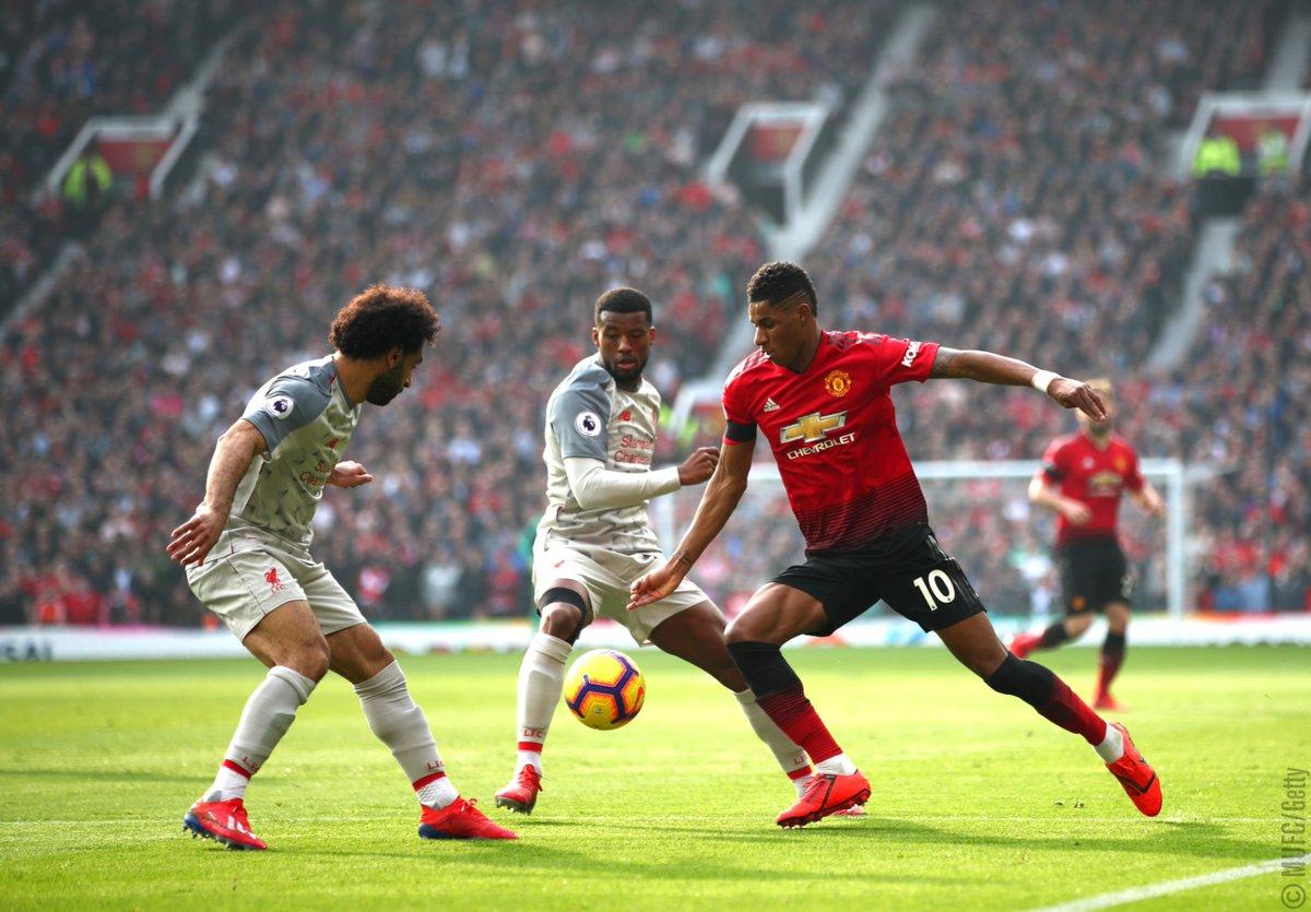 Man United Dan Liverpool Masih Sama Kuat Di Babak Pertama
