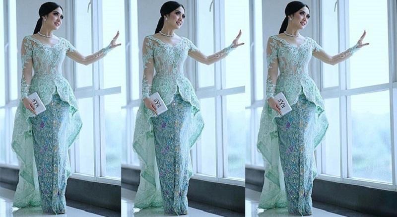 Intip Gaya Penampilan Syahrini Kenakan Kebaya Dan Gaun Cantik
