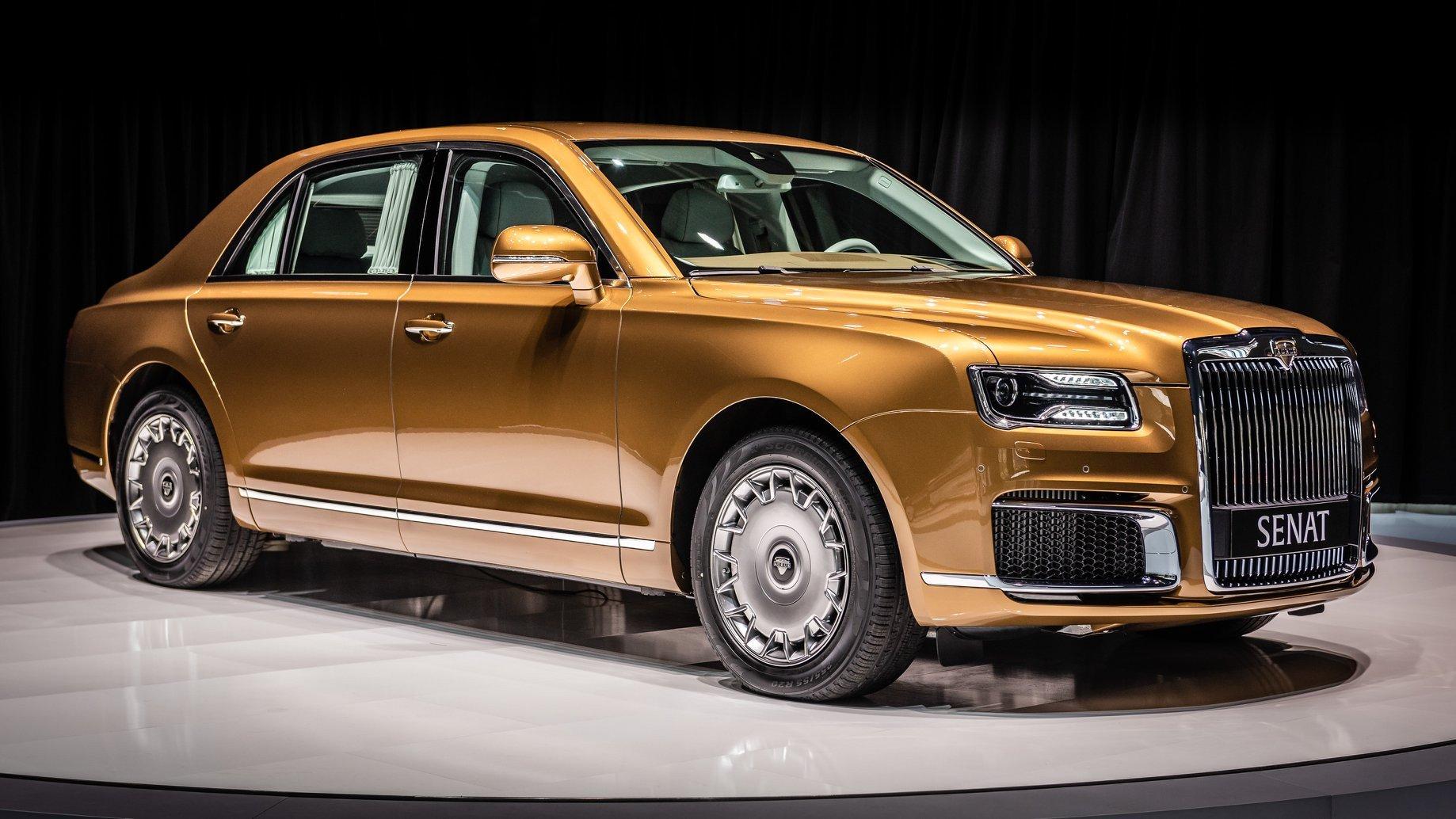 Produsen Mobil Mewah Eropa Mulai Ciut Kehadiran Aurus Dari Rusia Okezone Otomotif