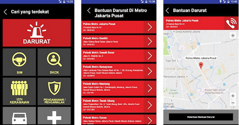 Manfaatkan Teknologi Polri Sosialisasikan Aplikasi Polisiku Dan Panggilan Darurat 110 Okezone Techno