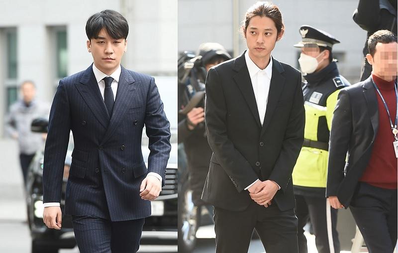 https: img.okezone.com content 2019 03 14 33 2029920 tiba-di-kantor-polisi-seungri-jung-joon-young-kompak-minta-maaf-RK5hA6BtUp.jpg