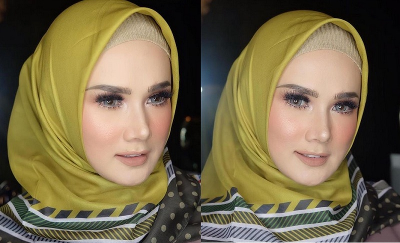 Wajah Terlihat Berbeda Mulan Jameela Bantah Tudingan Oplas Okezone Celebrity