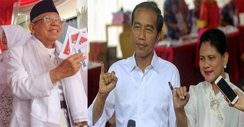 Suara Masuk Di Atas 90%, Jokowi-Ma'ruf Unggul Di 4 Quick
