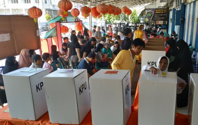 Many people voted in the 2019 election