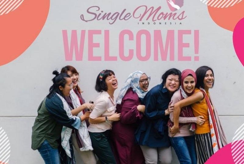 Melunturkan Stigma Negatif Janda Lewat Single Mom Indonesia