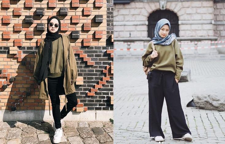 5 Tampilan Hijab Santai Ala Gita Savitri Cocok Banget Buat Bukber Okezone Lifestyle