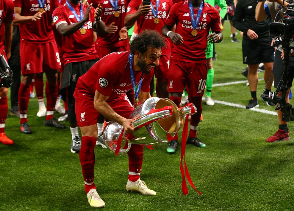 Liverpool Juara Liga Champions Salah Bahagia Sukses Balaskan Dendam Okezone Bola