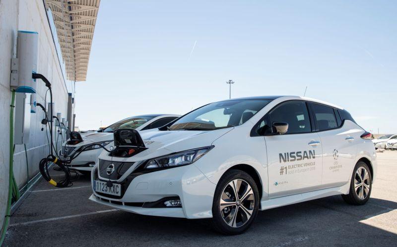nissan leaf 2020 model