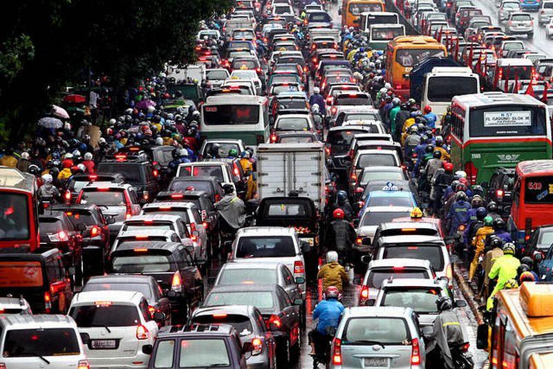 Hasil gambar untuk Macet Jakarta