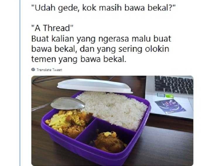 https: img.okezone.com content 2019 07 16 298 2079444 kisah-netizen-tetap-bawa-bekal-makanan-meski-sudah-dewasa-jangan-malu-Yzv37sUwxO.jpg