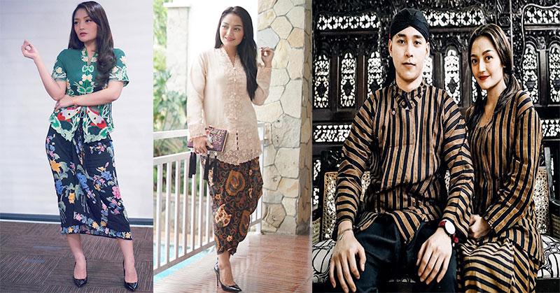 Pesona Siti Badriah Pakai 4 Model Kebaya Cantik Dan Kalem