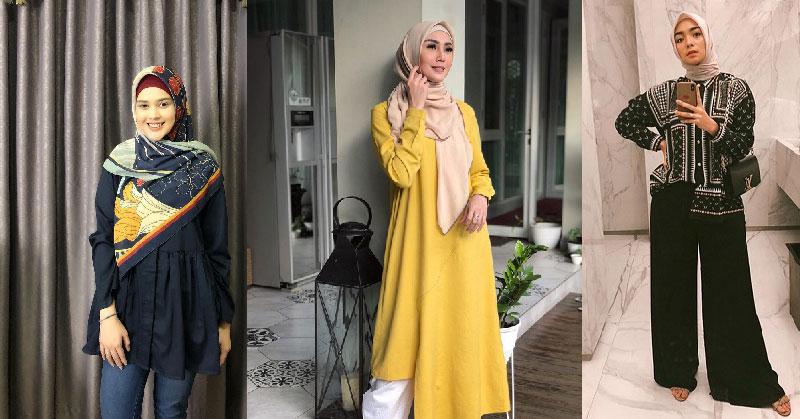 Gaya Hijab Simpel Ala Cut Meyriska Hingga Citra Kirana Bisa Jadi Inspirasi Okezone Muslim