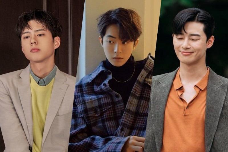 Gaya Rambut Pria Terbaru 10 Idol Korea Ini Tampil Kece Dengan Comma Hair Okezone Lifestyle